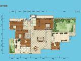 永实蔷薇国际_5室2厅2卫 建面366平米