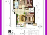 中房馨美域_3室2厅1卫 建面95平米