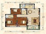 佰利庄园_3室2厅2卫 建面111平米