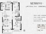 碧桂园西湖_3室2厅2卫 建面131平米