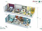 名门翠园_3室1厅2卫 建面40平米