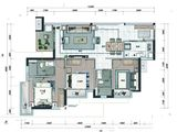 招商雍和府_3室2厅2卫 建面92平米