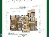 翁源碧桂园_4室2厅3卫 建面180平米