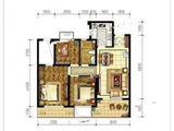 牛驼温泉孔雀城_2室2厅1卫 建面89平米