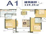 琨朗翰林华府_3室2厅2卫 建面119平米