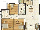 韶关恒大城_3室2厅2卫 建面123平米