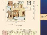 丹霞新城_3室2厅2卫 建面139平米