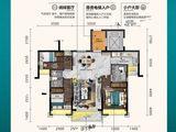 曲江丽景嘉园_3室2厅2卫 建面115平米