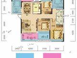 长旭时光印象_5室2厅2卫 建面122平米