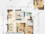 佳兆业悦峰_3室2厅2卫 建面114平米