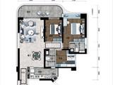 海南碧桂园中央半岛_3室2厅2卫 建面122平米